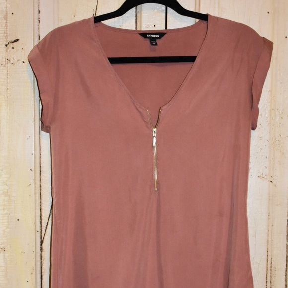 official supplier choose original the best attitude Express Rose Gold blouse size XS